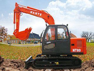 南特机械 NT80 挖掘机
