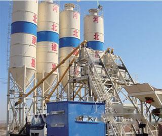 山推建友 JS500-PL800 混凝土搅拌站