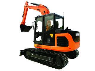 京城长野 NS80C 挖掘机