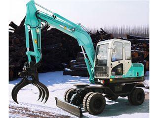 晋工JGM9075L蔗木拾装挖掘机