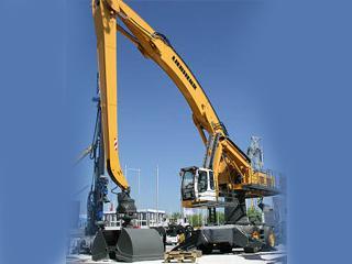 利勃海尔A954CHDLitronicHighRise挖掘机