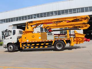 犀牛重工 XND5161-25M臂架 泵车图片