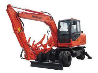 沃尔华 DLS890-9A轮式蔗木装卸 挖掘机