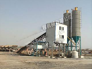 貝特 HLS60 混凝土攪拌站圖片