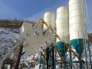 貝特 HZS75 混凝土攪拌站圖片