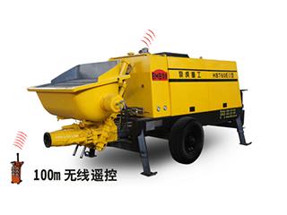 泵虎重工 HBT60EIII 拖泵图片