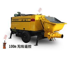 泵虎重工 HBT50.10-83DRS 拖泵
