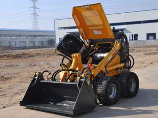 沃尔华 GN380人字形工程胎 滑移装载机