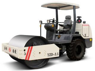 洛阳路捷重工 YZD-3.5-1 压路机