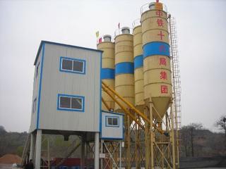 立杰集团 HZS75 混凝土搅拌站