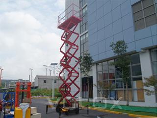 维勒科 10v02039移动剪叉 高空作业机械