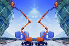 维勒科 10v01486自行走曲臂式 高空作业机械