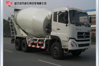成龙威CLQ5250GJB3D搅拌运输车
