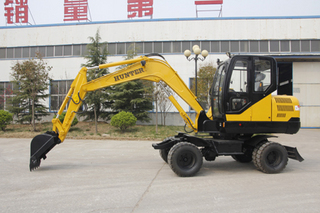 恒特重工HTL65-8挖掘机