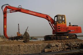 永工 YGSZ420履带式双动力液压抓料 挖掘机