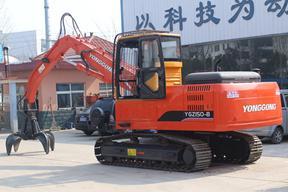 永工 YGZ150履带式液压抓料 挖掘机图片