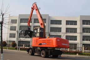 永工 YGSLZ400轮式双动力抓料 挖掘机