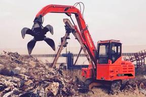 永工 YGZ100履带式液压抓料 挖掘机