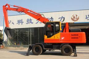 永工YGXL140-7轮式卸煤挖掘机