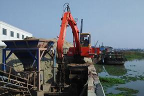 永工 YGG260固定式式液压抓料 挖掘机