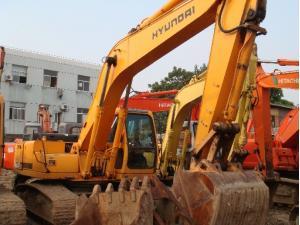 现代R210-5挖掘机