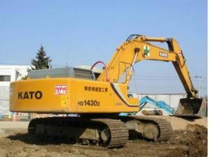 加藤 HD1430 挖掘机图片