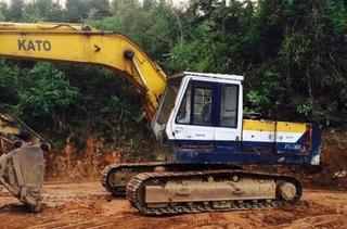 加藤DH770挖掘机