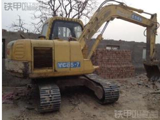 玉柴 YC85-7 挖掘機圖片