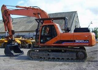 斗山 S300 挖掘機圖片