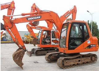 斗山DH80LC-7挖掘机