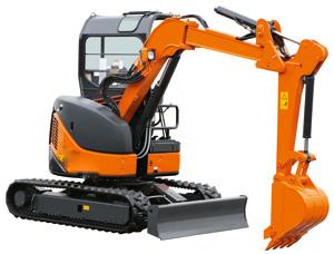 日立EX50URG挖掘机
