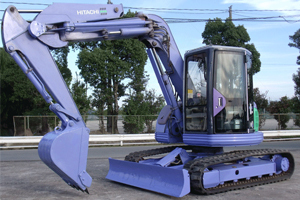 日立EX75UR挖掘机