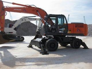 日立 ZAXIS210W 挖掘机