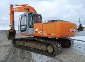 日立EX225-5挖掘机