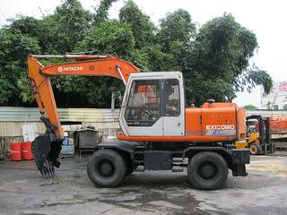 日立EX120WD挖掘机