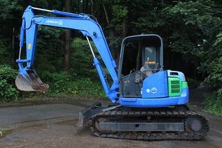 日立 EX80U 挖掘机图片