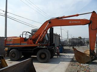 日立EX160WDS挖掘机