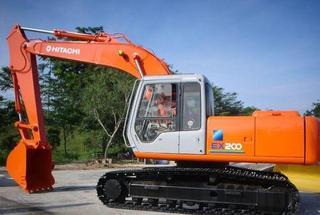 日立 EX200 挖掘機圖片