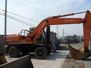 日立EX160WD挖掘机