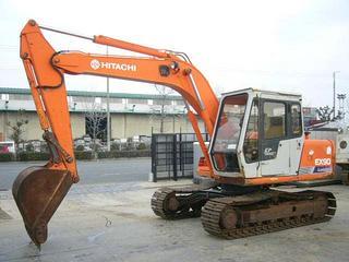 日立 EX90 挖掘機圖片