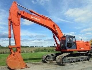 日立 EX400LC 挖掘机图片