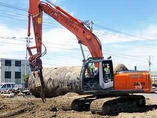 日立ZX210K-3G挖掘机