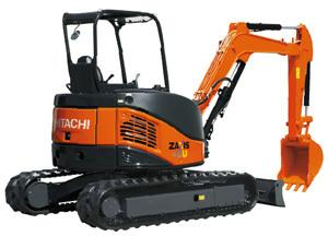 日立ZX40U挖掘机