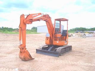 日立EX40UR挖掘机