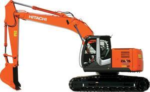 日立ZX225USRLC-3挖掘机