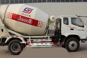 鲁兴大力 4立方混凝土搅拌车 搅拌运输车
