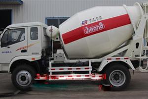 鲁兴大力 6立方混凝土搅拌车 搅拌运输车