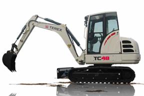 特雷克斯TC48挖掘机
