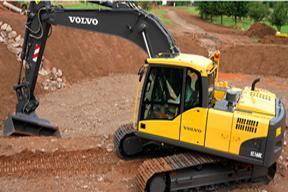 沃尔沃EC160C挖掘机