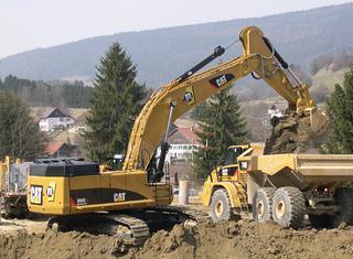 卡特彼勒365C挖掘机